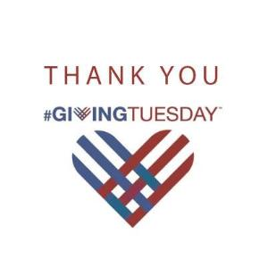 Giving Tuesday - Thank You